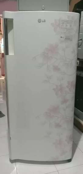 Kulkas LG Motif Bunga Putih Modern Murah/pendingin/frezer/free ongkir