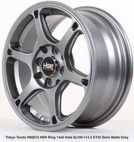 Velg Bisa Kredit TOKYO TENDO HSR Ring14X6 H8X100-114,3 ET35 SMG