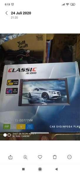 Tape doubledin dvd usb bt clasic + pasang (Megah top )