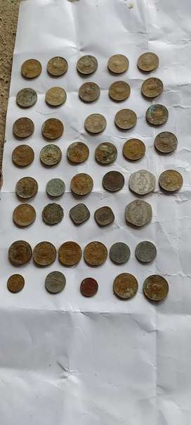 Old coins 45pcs