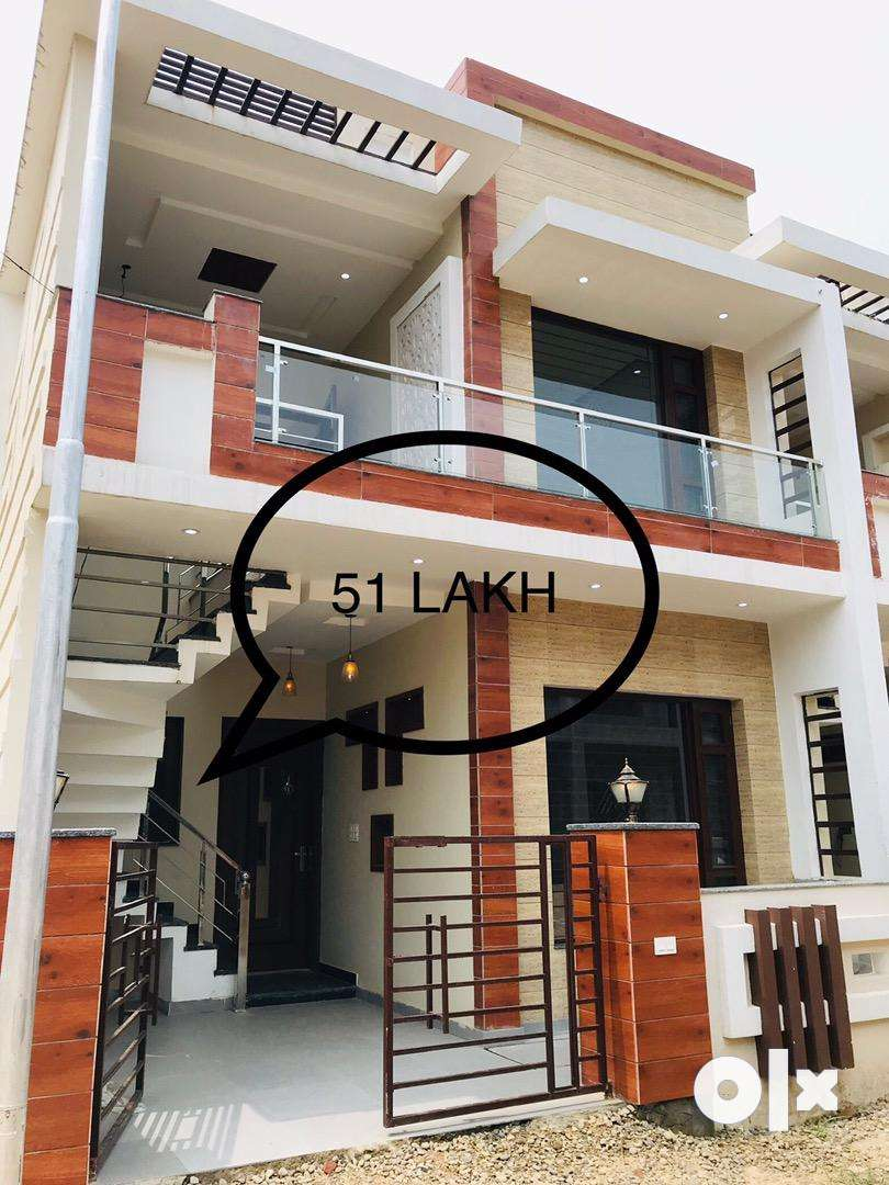 Fully Furnished/ 300 Meter from 200 ft road/Gated Socity/Park/ 0