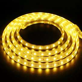 Rope light golden,blue,white color available
