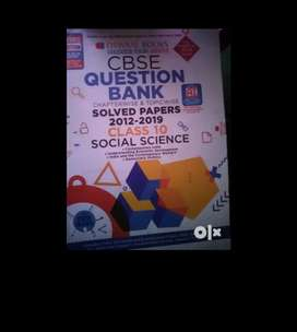 Class 10 sst Oswal question book .very helpful book for baord exam.