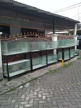 Aquarium ikan louhan arwana uk 100 80 discus koi koki cupang oscar