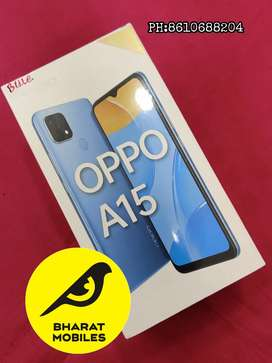Oppo A15.   3/32.   Blue