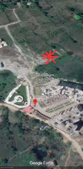 Residential plot inside boundry of Platina Dream City