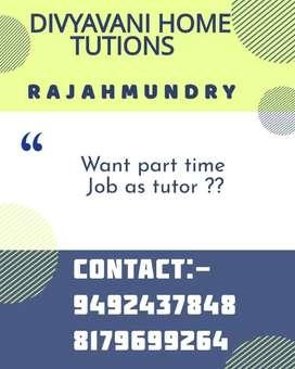 Home tutor - Divyavani home tuitions