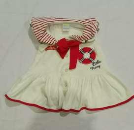 Dress bayi Perempuan Usia 6-12 bulan murah