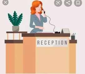 Urgent hiring for recepcionist