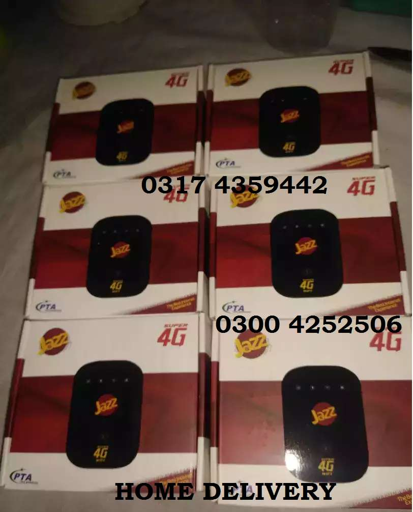 Jazz super 4G USB & chargeable device new pin pack + Data Sim 0