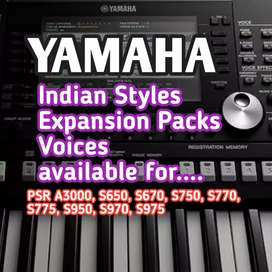Yamaha keyboard Psr S Styles, Voices, Expansion Packs