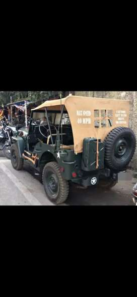Willys usa style modified jeep