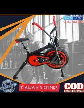 Alat fitnes sepeda statis platinum bike 2 fungsi