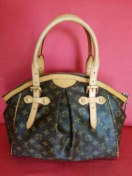Tas import eks LOUIS VUITTON vintage besar handbag ad no seri