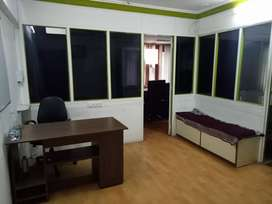 550sq, feet fully furnished Office near income-tax