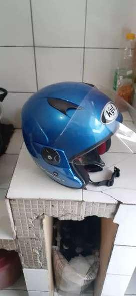 Helm 2vision biru