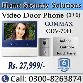 Touch Panel Video Door Phone (Wide LED)
