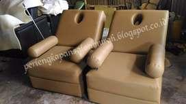kursi refleksi chocolate guling atau kursi pijat bentuk sofa