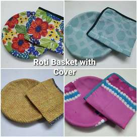 Roti Baskets with Cover.