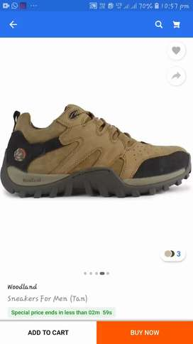 Woodland mans footwear