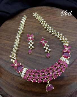 Imitation jewellary for bridal and party wear