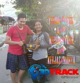 GPS TRACKER 3DTRACK TERLARIS + PASANG