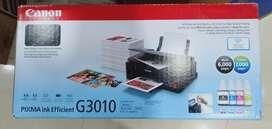 New Canon 3010 tank wifi all in one printer print scan copy fix price