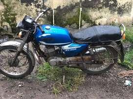 Well condition tvs suzuki bike