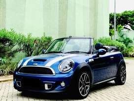 Mini Cooper S Convertible Coupe 2014 R56 Multimedia 43.000KM ISTIMEWA