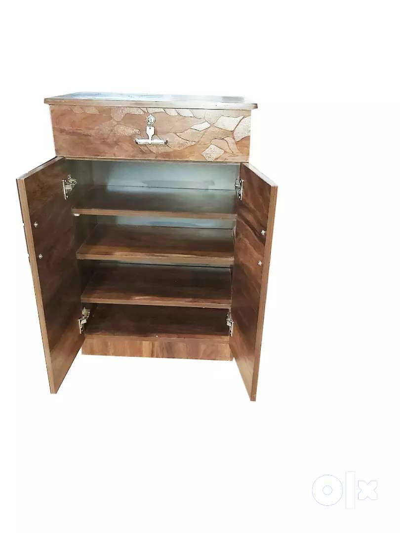 Engineeeing wooden shoe rack at factory price 0