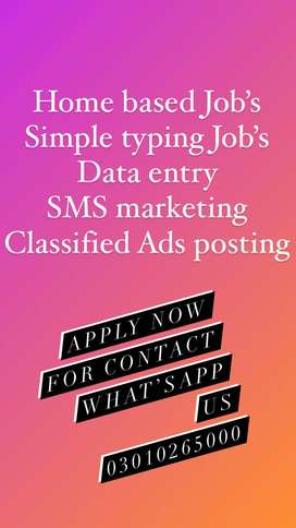 Come Grasp authentic online job offer for youngster, data entry