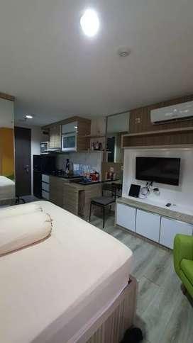 Disewakan Apartemen Bintaro Icon Tipe Studio dan 2 kamar. Full furnish