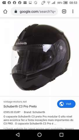 German Schuberth Helmet C3, Pro C4 Concept for Heavy Bikes