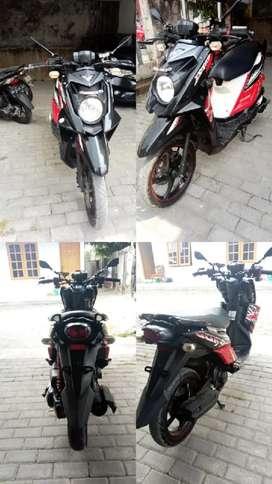 Mio X-Ride ,surat lengkap , pajak jalan