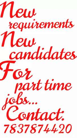 Continue with your regular basis job