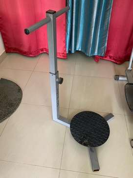 Cross trainer+ Twister stand with handles