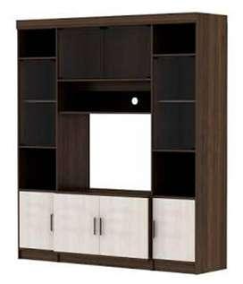 Wall Unit Nexa 1800 Dutch Walnut By Activ Furniture