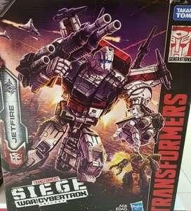 Transformers WFC Siege - JETFIRE Commander Class / War for Cybertron