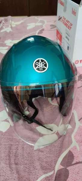 Helmet Yamaha company blue colour