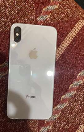 Iphone X 64gb scratchless and new condition