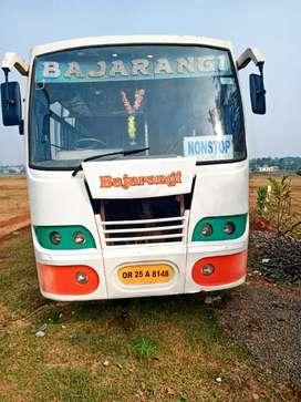 Tata bus jajapur rood