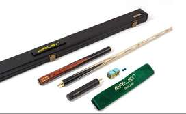 Riley England Sapele Series 2 - 3/4 Cut Snooker Cue & Case Set