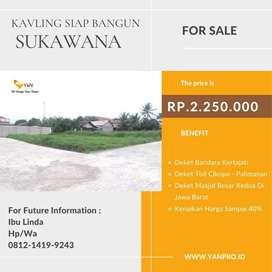 Tanah Kavling Di Sukawana Kertajati View Bandara Harga 2,25Jt/m2