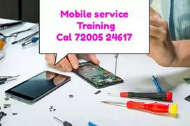 Mobile service training and laptop service training