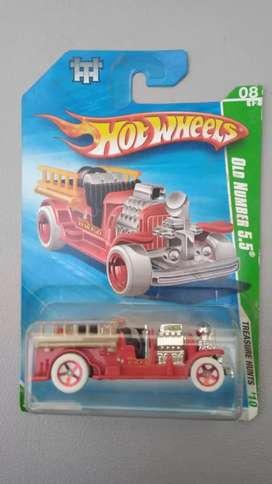 Hotwheels T-Hunt Old Number
