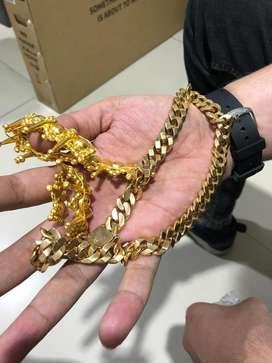 Terima emas dan berlian tanp surat cod