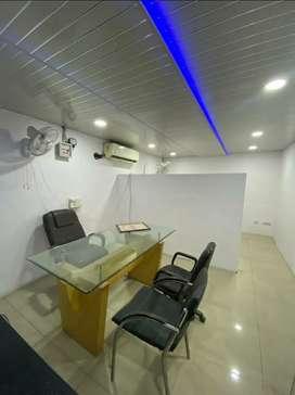 220sqft furnish office sarabha nagar near hero bakery chownk