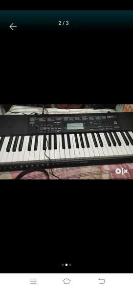 New Casio keyboard ctk 3500 only 21 days old with sealed open condi