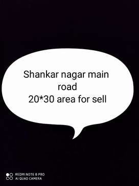 20*30 area at shankar nagar with 2 commerical shops