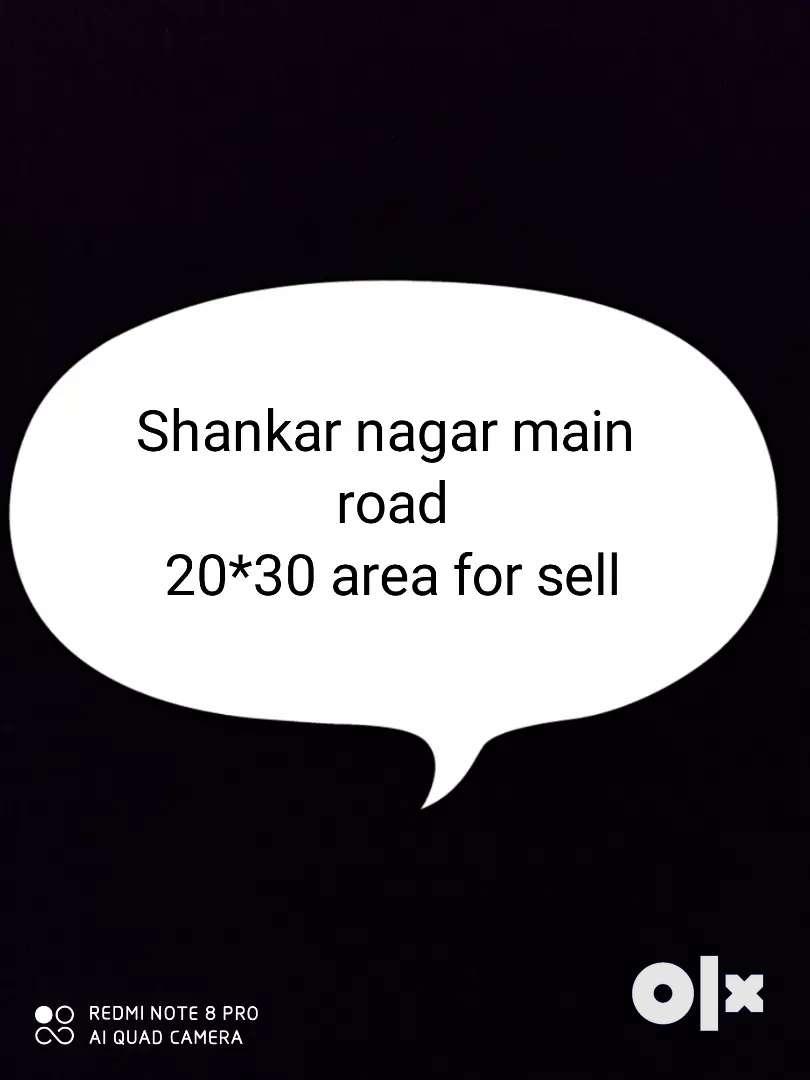 20*30 area at shankar nagar with 2 commerical shops 0